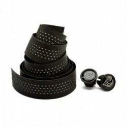 Nastro manubrio CINELLI 3D REFLEX nero 2 tappi inclusi