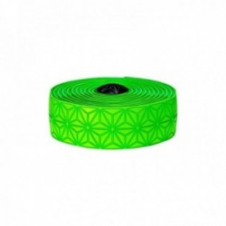 Nastro manubrio SUPACAZ SUPER STICKY KUSH verde tappi verdi