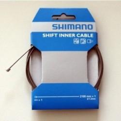 Shimano, Cavi cambio, Race, 1,2mm x 2100mm (1x), terminale incluso (HstNr Y60098911)