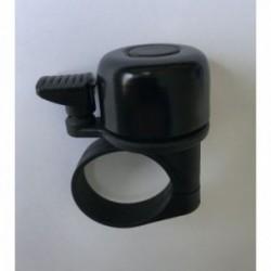 CLC campanello in alluminio 31,8 mm con vite metrica colore nero