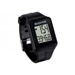 Sigma Sport, Cardiofrequenzimetri, iD.GO black, colore nero, 3-funzioni, trasmissione frequenza cardiaca analogica, cronometro c