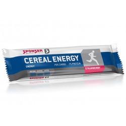 Sponser, Sport Food, Barretta energetica Cereal Energy Bar, contenuto: 40g, Aroma: fragola, 1 pezzo