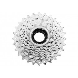 SunRace, Pacco pignoni con filetto, MFM30 7-vel. FREEWHEEL 13-28T nero