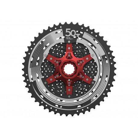 SunRace, Pacco pignoni, CSMX80 11-vel.   11-50T. nero