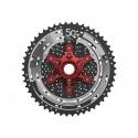 SunRace Pacco pignoni CSMX80 Light 11-velocità 11-50 nero