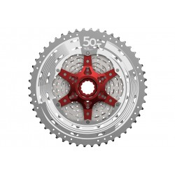SunRace, Pacco pignoni, CSMX80 11-vel. 11-50T. METALLIC