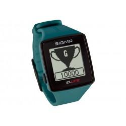 Sigma Sport, Cardiofrequenzimetri, iD.LIFE pine green, colore verde, Activity Tracker integrato, misurazione della frequenza car