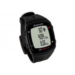 Sigma Sport, Runningcomputer, iD.RUN HR black, colore nero, misurazione della frequenza cardiaca attuale / media / massima sul p