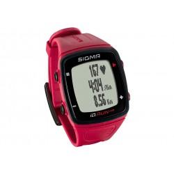 Sigma Sport, Runningcomputer, iD.RUN HR rouge, colore rosso, misurazione della frequenza cardiaca attuale / media / massima sul