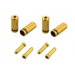 kit terminali Jagwire Universal Pro 4.0mm e 5.00mm