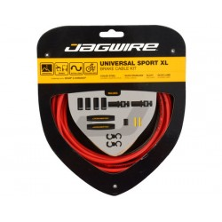 Kit cavi e guaine per freno Jagwire Universal Sport XL rosso