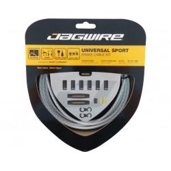 Kit cavi e guaine per freno Jagwire Universal Sport grigio chiaro