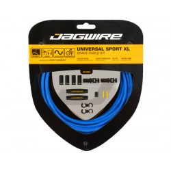 Kit cavi e guaine per freno Jagwire Universal Sport XL blu