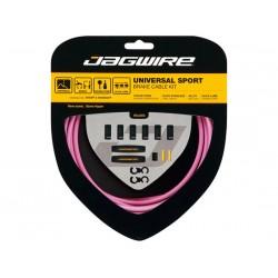 Kit cavi e guaine per freno Jagwire Universal Sport rosa