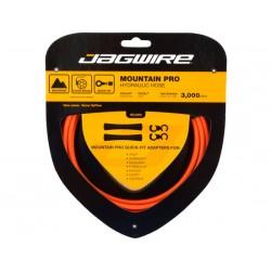 Kit cavi e guaine per freno Jagwire Mountain Pro Hydraulic arancione