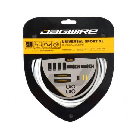 Kit cavi e guaine per freno Jagwire Universal Sport XL bianco