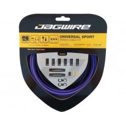Kit cavi e guaine per freno Jagwire Universal Sport viola