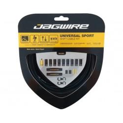 Kit cavi e guaine per cambio Jagwire Universal Sport nero