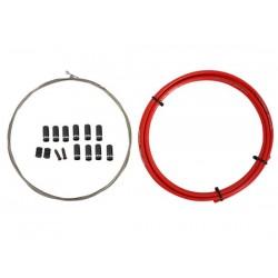 Kit cavi e guaine per cambio Quaxar Flexlines System rosso