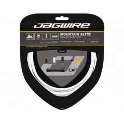 Kit cavi e guaine per cambio Jagwire Mountain Elite Sealed bianco