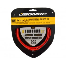 Kit cavi e guaine per cambio Jagwire Universal Sport XL rosso