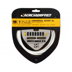Kit cavi e guaine per cambio Jagwire Universal Sport XL bianco