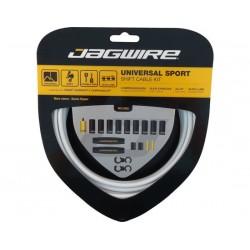 Kit cavi e guaine per cambio Jagwire Universal Sport bianco