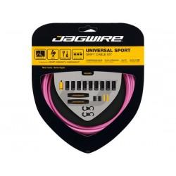 Kit cavi e guaine per cambio Jagwire Universal Sport rosa