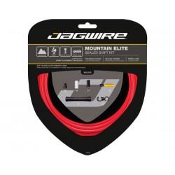 Kit cavi e guaine per cambio Jagwire Mountain Elite Sealed rosso