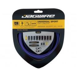Kit cavi e guaine per cambio Jagwire Universal Sport viola
