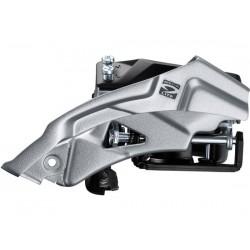 Deragliatore Anteriore 9 velocità Shimano ALTUS FD-M2000 Top-Swing 63-66°