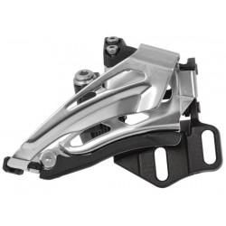 Deragliatore Anteriore 2x10 velocità Shimano DEORE FD-M6025 Top-Swing Low Clamp