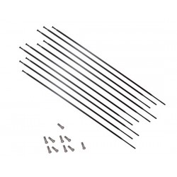 Set raggi Mavic CROSSRIDE UB 26 FW/RW sinistra 253mm inclusi Nipples