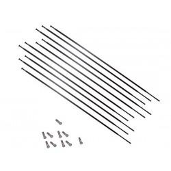 Set raggi Mavic CROSSRIDE UB 26 RW destra 276mm inclusi Nipples