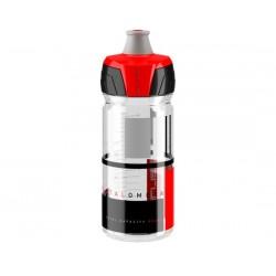 Borraccia Elite Crystal Ombra Membrane 550ml trasparente/rosso