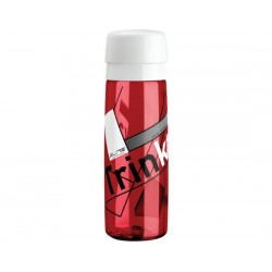 Borraccia Elite Trinka 700ml trasparente/rosso