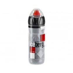 Borraccia termica Elite Iceberg 2H 650ml grigio/rosso