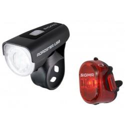 Set luci Sigma Sport Roadster USB / Nugget II K