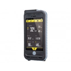 Bike CoverTopeak Weatherproof iPhone 5 + PowerPack grigio
