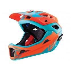 Casco DH/FR Leatt DBX 3.0 taglia M (55-59cm) arancione/azzurro