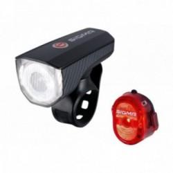 Sigma Sport, Impianto illuminazione, AURA 40 USB / NUGGET II RL K-SET