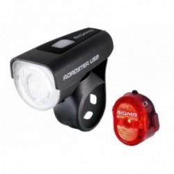 Sigma Sport, Impianto illuminazione, ROADSTER USB / NUGGET II K-SET