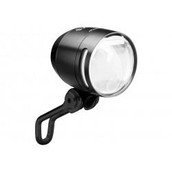 Busch & Müller, Impianto illuminazione, faretto LUMOTEC IQ-X E, E-Bike, colore nero, DC5 6-60V per tensione continua, 7W, 150-lu