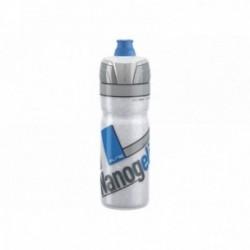 Borraccia termica Elite NANOGELITE WHITE 500ml disegni blu