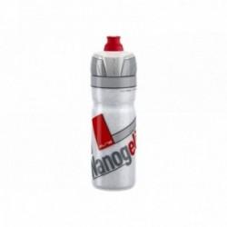 Borraccia termica Elite NANOGELITE WHITE 500ml disegni rossi