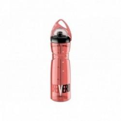 ELITE, Borraccia, VERO GT RED, 700ml, rosso, massima trasparenza, analoga a quella del vetro, mantiene inalterato il gusto del l