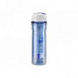 ELITE, Borraccia, VERO THERMAL GT BLUE, 500ml, blu, 3h di capacità isolante, massima trasparenza, analoga a quella del vetro, ma