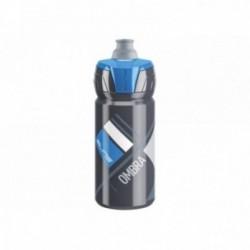 Borraccia Elite OMBRA GREY 550ml disegni blu valvola Push-Pull