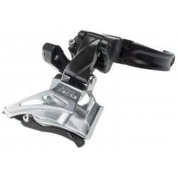 Shimano, Deragliatore anteriore, DEORE, FD-M6025-H, 2x10-vel., fascetta alta (High-Clamp) 34,9mm & 31,8/28,6mm con adattatore, (