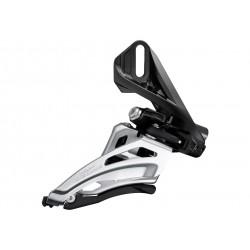 Shimano, Deragliatore anteriore, DEORE, FD-M6020-D, 2x10-vel., direct mount, (corona grande 34-38 denti), Front-Pull, Side-Swing